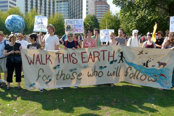 People's Climate March PDX